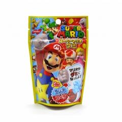 Жевательный мармелад Nobel Супер Марио со вкусом лимонада рамунэ и кока-колы