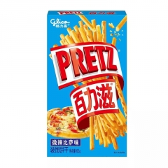"""Хлебные палочки """"Pretz"""" со вкусом пиццы 65 грамм"""