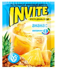 Растворимый напиток Invite Ананас 9 грамм