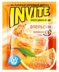 Растворимый напиток Invite Апельсин 9 грамм