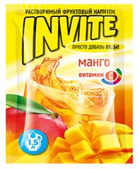 Растворимый напиток Invite Манго 9 грамм