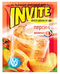 Растворимый напиток Invite Персик 9 грамм