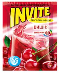 Растворимый напиток Invite Вишня 9 грамм