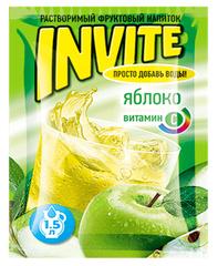 Растворимый напиток Invite Яблоко 9 грамм