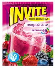 Растворимый напиток Invite Ягодный микс 9 грамм