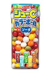 Карамель разноцветная KABAYA JOUE C COLOR BALL SODA 5 вкусов напитков