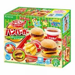 Жевательная конфета Popin Cookin Сделай сам Съедобный набор Гамбургер картошка и кола 22 гр