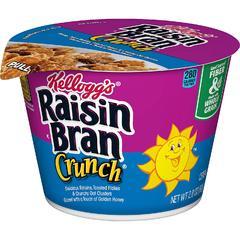 Хлопья Kelloggs Raisin Bran Crunch (стакан) 80 грамм
