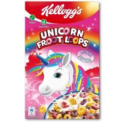 Сухой завтрак Kelloggs Froot Loops Unicorn Edition 375 грамм