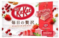 KIT KAT MAINICHI NO ZEITAKU STRAWBERRY CHEESE CAKE 109 грамм