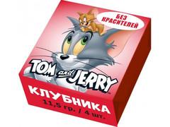 Конфеты жевательные Tom and Jerry Клубника 11,5 грамм