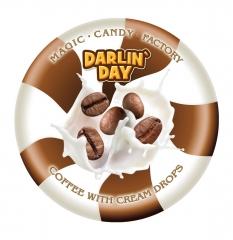 Карамель леденцовая молочная DARLIN DAY кофе и сливки 180 грамм