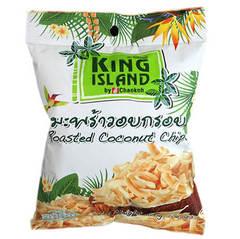 Кокосовые чипсы KING ISLAND (40 грамм)