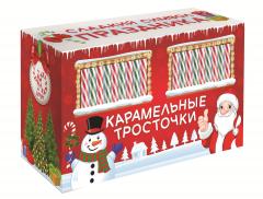 Карамельные Тросточки в Новогоднем дисплее Сладкая Сказка 15 гр