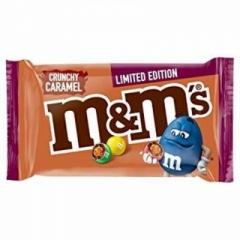 Шоколадное драже M&Ms с хрустящей карамелью 80 гр