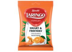 Карамель LARINGO апельсин-имбирь 80 гр