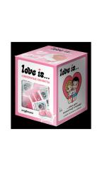 Жевательные конфеты LOVE IS сливочные со вкусом Клубника 105 гр