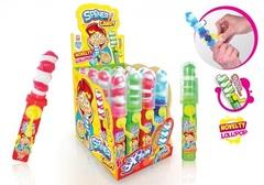 Карамель леденоцвая 'Спинер Канди' вращающаяся фруктовая Lollipop Spiner Candy X-Treme 23 грамм