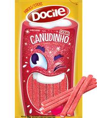 Жевательный мармелад Docile SOURS STRAWBERRY PENCIL (КАРАНДАШИ со вкусом клубники) 70 грамм