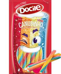 Жевательный мармелад Docile SOUR STRAWBERRY COLORED  PENCIL (цветные КАРАНДАШИ со вкусом клубники) 70 грамм