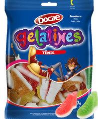 Жевательный мармелад Docile GELATINES SOUR SNEAKERS (КРОСОВКИ со вкусом ягод и фруктов) 80 грамм