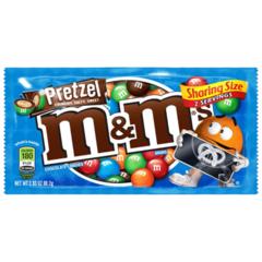 Шоколадное драже M&Ms Pretzel (со вкусом кренделя) 80 грамм