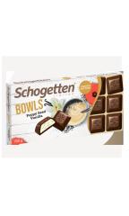Шоколад молочный Schogetten Bowls ванильный крем с семенами мака 100 гр