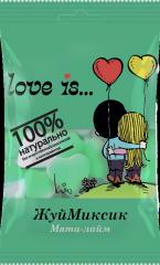 """Мармелад жевательный """"Love is…"""" ЖуйМиксик Мята-Лимон-Лайм 25 гр"""