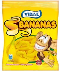 Мармелад Vidal Бананы 100 гр
