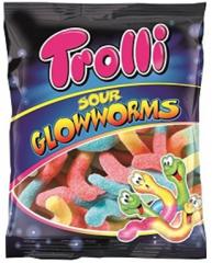Мармелад Trolli Кислые червячки 100 гр