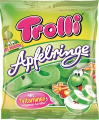 Мармелад Trolli Яблочные колечки 100 гр