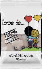 "Мармелад жевательный ""Love is…"" ЖуйМиксик Жвачка 25 гр"