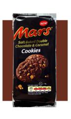 Печенье Mars soft Baked Double Chocolate&Caramel 162 гр