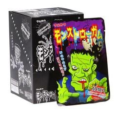 Жевательная резинка MARUKAWA с изображением монстра со вкусом содовой и колы