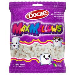 Зефир MAXMALLOWS мини белые трубочки ванильные 150 грамм