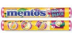 Жевательная конфета Mentos MIX BEACH 37.5 грамм