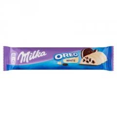 Шоколадный батончик Milka Oreo White 41 гр