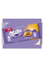 Шоколад Milka Cream & Biscuit c прослойкой нежного крема и печеньем 100 гр