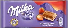 Milka Strawberry Yoghurt Chocolate 100 грамм