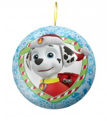 Жевательные конфеты в Подарочном Шаре Сладкая Сказка Paw Patrol 15 гр
