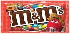 Шоколадное драже M&Ms Peanut butter 46.2 грамма