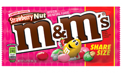 Шоколадное драже M&Ms Strawberry (со вкусом клубники) 92 грамма