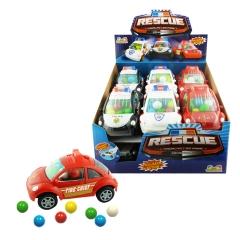 Жевательные конфеты Kidsmania спасательная машинка 12 грамм