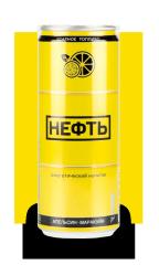 """Напиток энергетический газированный NEFT со вкусом """"Апельсин-Маракуйя"""" 450 мл"""