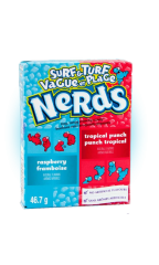 Конфеты Nerds Tropical Punch & Raspberry 46,7 гр