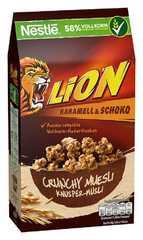 Мюсли Nestle Lion Caramel and Chocolate 420 грамм