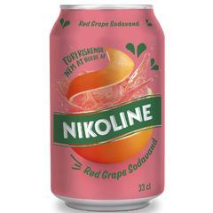 Напиток Nikoline Red Grape Николайн грейпфрут 330 мл