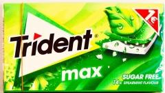 Жевательная резинка TRIDENT MAX мята 27 гр