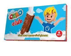 Шоколадный батончик с молочной начинкой Ozmo Club 44 грамм