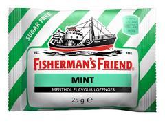Мятные леденцы Fisherman's Friend со вкусом мяты 25 грамм